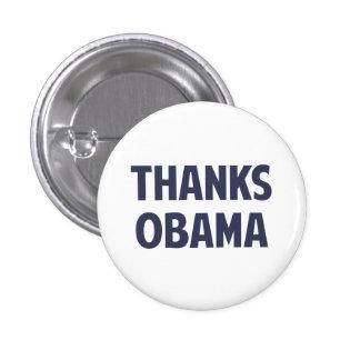 Gracias Barack Obama Pin Redondo De 1 Pulgada