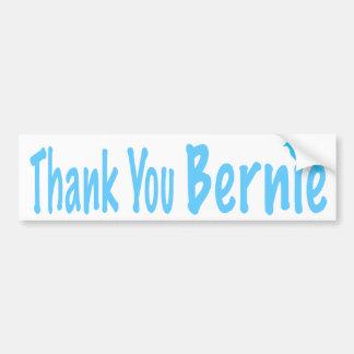 Gracias Bernie Pegatina Para Auto