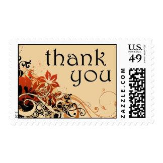 gracias: brisa de la flor: sellos postales