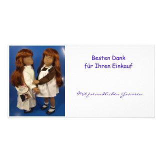 Gracias buenas para Su compra Fotokarte Tarjetas Personales Con Fotos