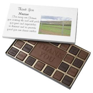 Gracias caja del granjero de los chocolates 100% caja de bombones variados con 45 piezas