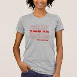 Gracias - camisa del bolso de compras
