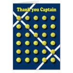 Gracias Captain, tenis Tarjeton
