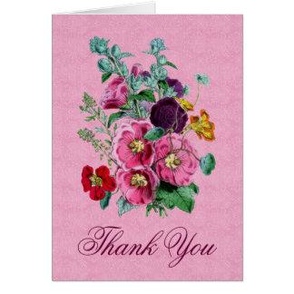 Gracias cardar con las floraciones V12 del Tarjeta Pequeña