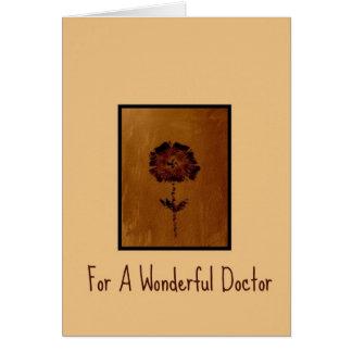 Gracias cardar por un doctor maravilloso felicitacion