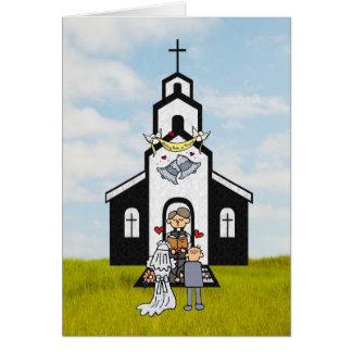 Gracias clérigo tarjeta de felicitación