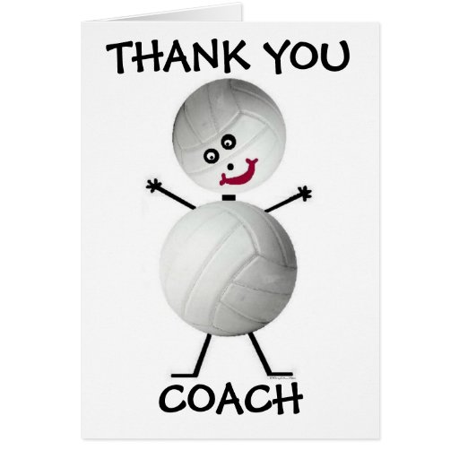 Gracias coche del voleibol tarjeton