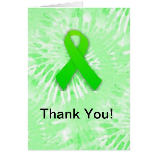 Gracias conciencia Notecards de Lyme Tarjeta