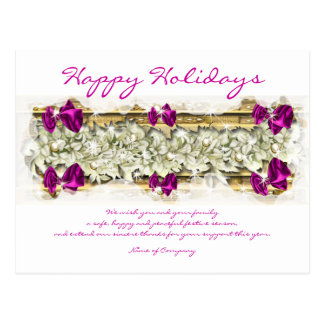 Gracias corporativas de Navidad de los refranes Postal