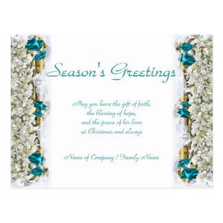 Gracias corporativas de Navidad de los refranes Tarjetas Postales