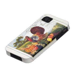 Gracias de Turquía del vintage iPhone 4 Carcasa