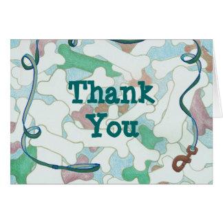 Gracias del Mascota-Canguro Tarjetas