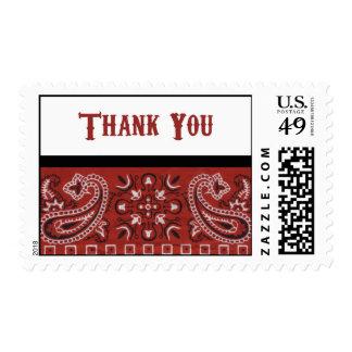 Gracias del pañuelo timbres postales