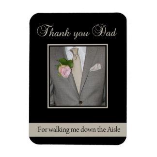 Gracias del papá por caminar yo abajo del pasillo imán