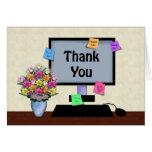 Gracias, día profesional administrativo felicitación