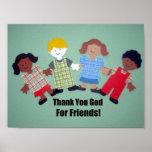 ¡Gracias dios por amigos! Impresiones