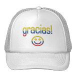 Gracias! Ecuador Flag Colors Hats