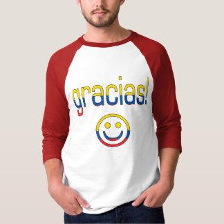 Gracias! Ecuador Flag Colors T Shirt
