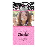 Gracias el dulce 16 de la joya de la corona del co plantilla para tarjeta de foto