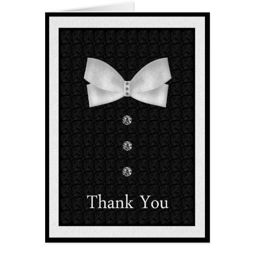Gracias el mejor boda del hombre tarjeta de felicitación