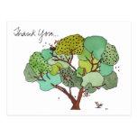 Gracias, el pájaro y las abejas postales
