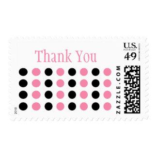 Gracias (el sello rosa claro/del negro)
