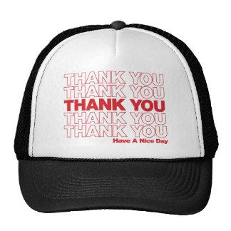 Gracias empaquetar el diseño - rojo gorras