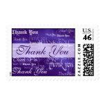 Gracias en sello púrpura