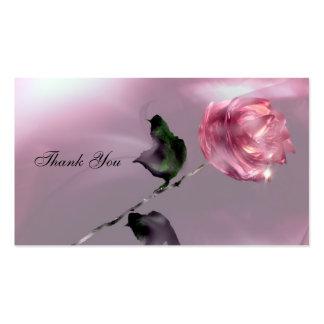 Gracias etiqueta del favor del boda tarjetas de visita