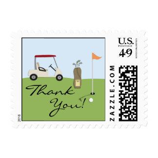Gracias Golf pequeños sellos