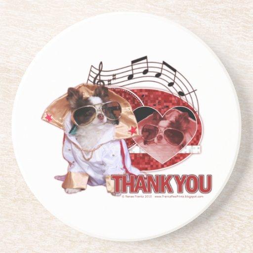 Gracias - gracias mucho - chihuahua - trasto posavasos diseño