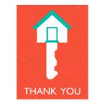gracias housekey postales
