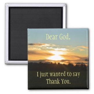 Gracias imán de dios
