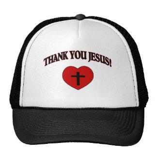 Gracias Jesús (el corazón) Gorra