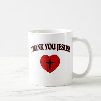 Gracias Jesús (el corazón) Taza