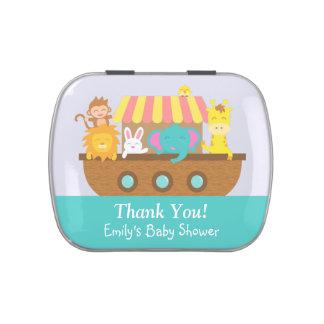 Gracias, la arca de Noah, favor de fiesta de Latas De Dulces