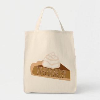 ¡Gracias! La bolsa de asas del pastel de calabaza