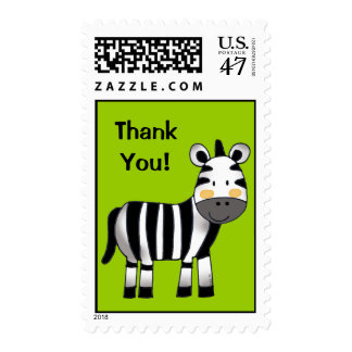 Gracias (la cebra) timbres postales