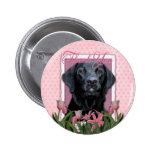 Gracias - Labrador - negro - indicador Pins