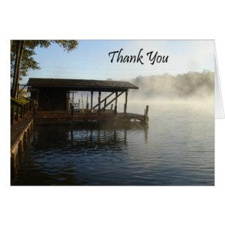 Gracias lago tarjeta