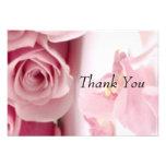 Gracias las flores rosadas comunicados
