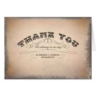 gracias las invitaciones de boda tipográficas del  felicitacion
