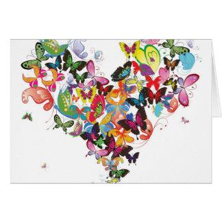 Gracias las mariposas - SRF Tarjeta Pequeña