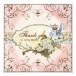 Gracias las notas - princesa encantada del Faerie Invitación 13,3 Cm X 13,3cm