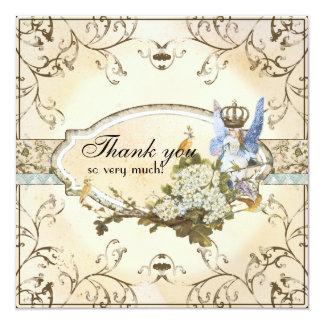 Gracias las notas - princesa encantada del Faerie Invitaciones Personalizada
