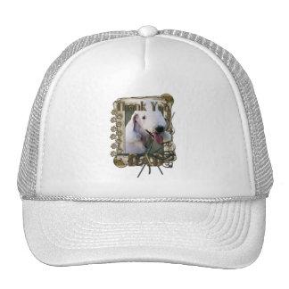 Gracias - las patas de piedra - Bedlington Terrier Gorra