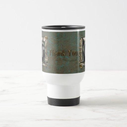 Gracias - las patas de piedra - great dane - gris taza de café