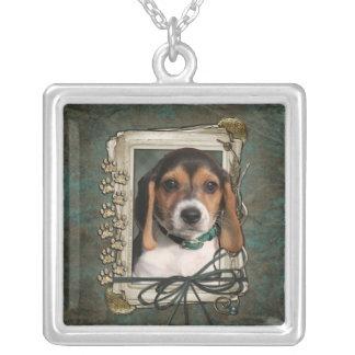 Gracias - las patas de piedra - perrito del beagle joyeria personalizada