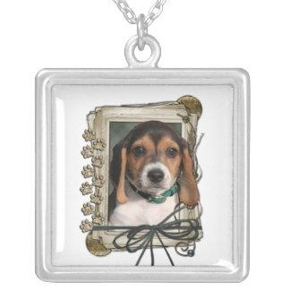 Gracias - las patas de piedra - perrito del beagle joyeria