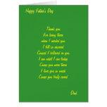 Gracias las tarjetas del día de padre